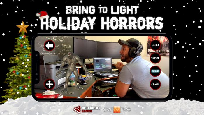 Announcing the Bring to Light Holiday Horrors Contest