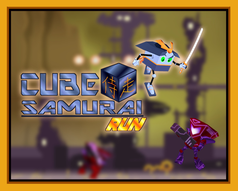 Screenshot of Cube Samurai: Run